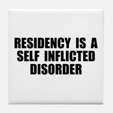 Medical Residency Tile Coaster