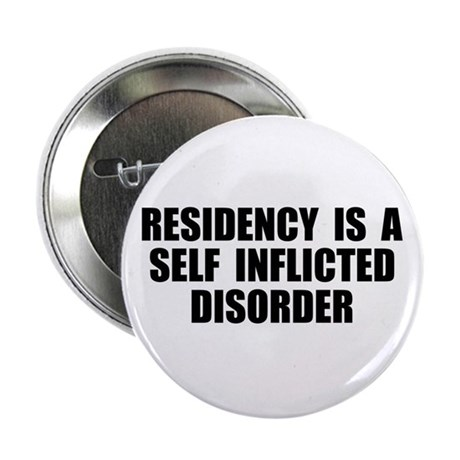 """Medical Residency 2.25"""" Button"""