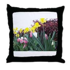 Gorgeous Daffodils Throw Pillow
