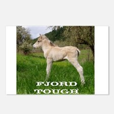 Fjord Horse Tough Postcards (Package of 8)