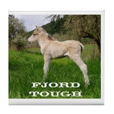 Fjord Horse Tough Tile Coaster