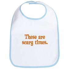 Scary Times Halloween Bib