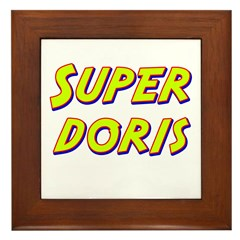Super doris Framed Tile