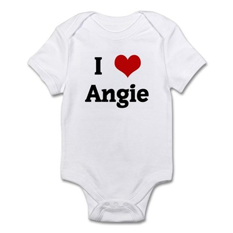 I Love Angie Infant Bodysuit
