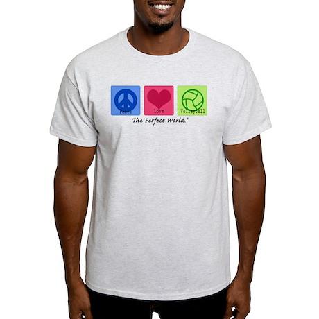 Peace Love VB Light T-Shirt