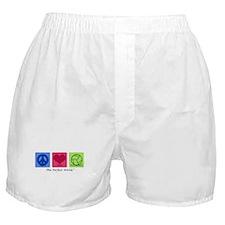 Peace Love VB Boxer Shorts