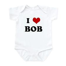 I Love BOB Infant Bodysuit