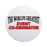 Event planner Round Ornaments