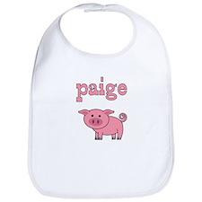 Pixie The Pig Bib