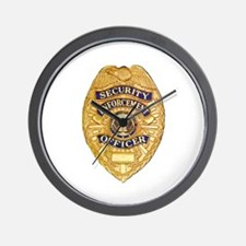 Security Enforcement Wall Clock