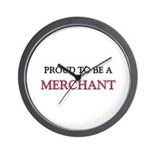 Proud to be a Merchant Wall Clock