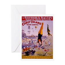 Barnum & Bailey (E) Greeting Card