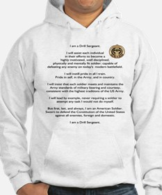 Drill Sergeants Creed / Patch Hoodie