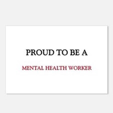 Proud to be a Mental Health Worker Postcards (Pack