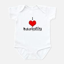 I Love MotorBoating Infant Bodysuit
