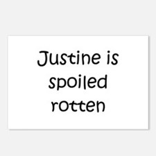 Unique Justine Postcards (Package of 8)