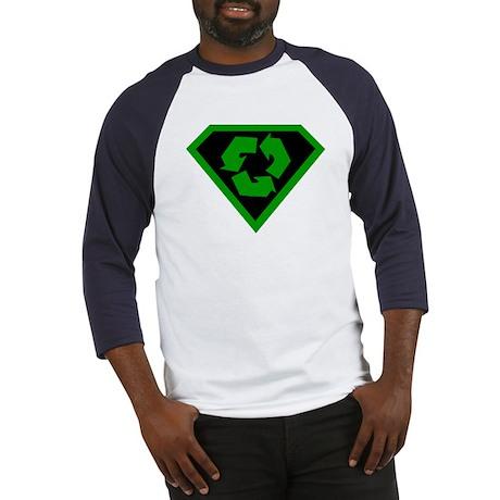 SUPER RECYCLE SYMBOL T-SHIRT Baseball Jersey