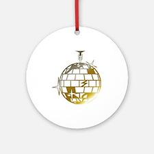 Gold Disco Ball Keepsake (Round)