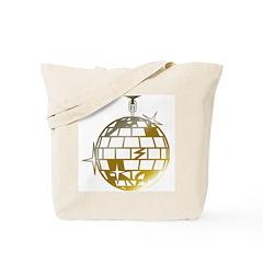 Gold Disco Ball Tote Bag
