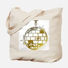 Gold Disco Ball Tote Bag