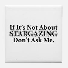 Stargazing Tile Coaster