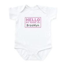 Hello My Name Is: Brooklyn - Onesie