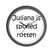 Cool Juliana Wall Clock