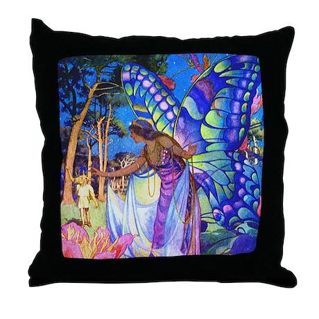 MIDSUMMER NIGHTS DREAM Throw Pillow