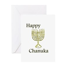 Happy Chanuka Greeting Card
