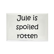 Jules name Rectangle Magnet (10 pack)