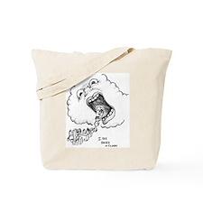 CLOUD FACE Tote Bag