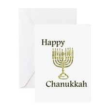 Happy Chanukkah Greeting Card