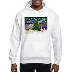 Xmas Magic - Basset Hooded Sweatshirt