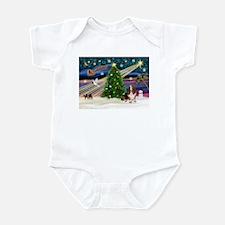 Xmas Magic - Basset Infant Bodysuit