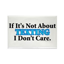 Texting Rectangle Magnet