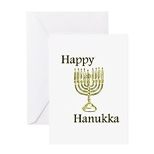 Happy Hanukka Greeting Card