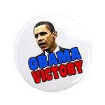 Big Barack Obama Victory Button