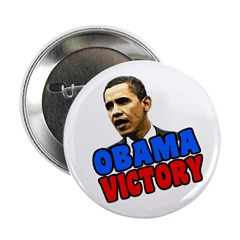 Obama Victory Button
