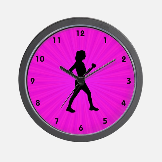 Time to Walk Wall Clock