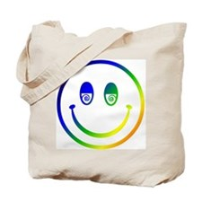 Stoned Smiley Tote Bag