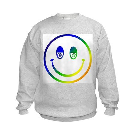 Stoned Smiley Kids Sweatshirt