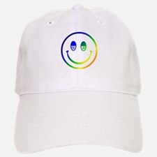 Stoned Smiley Baseball Baseball Cap