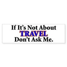 Travel Bumper Car Sticker