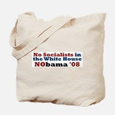 No Socialists NObama '08 ~ Tote Bag