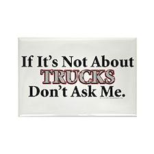 Trucks Rectangle Magnet