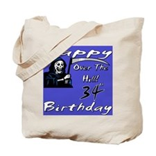 Cute 34th birthday party Tote Bag