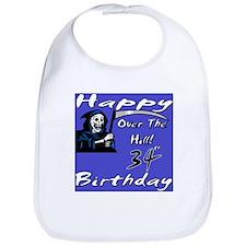 Cute 34th birthday party Bib
