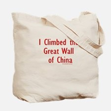 Climbed Great Wall Photo - Tote Bag