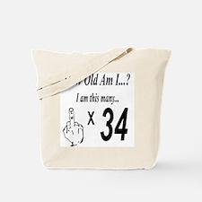 Funny Happy birthday Tote Bag