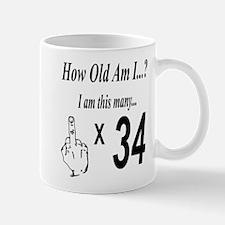 Cute 34th birthday party Mug